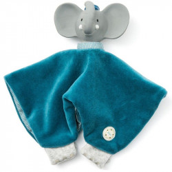 Doudou Elephant Bio personnalisable-detail